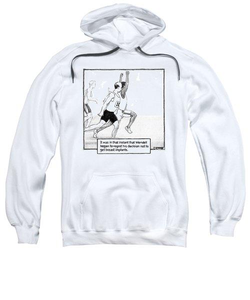It Was In That Instant That Wendell Began Sweatshirt