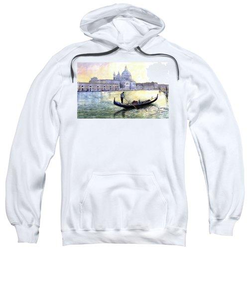 Italy Venice Morning Sweatshirt
