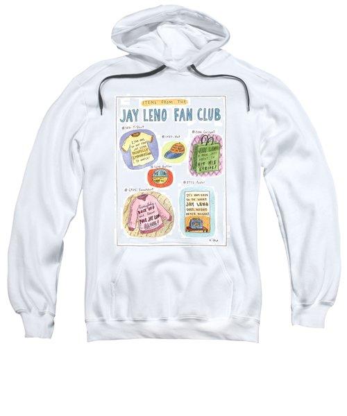 Items From The Jay Leno Fan Club Sweatshirt