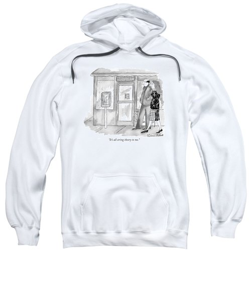 It's All String Theory To Me Sweatshirt