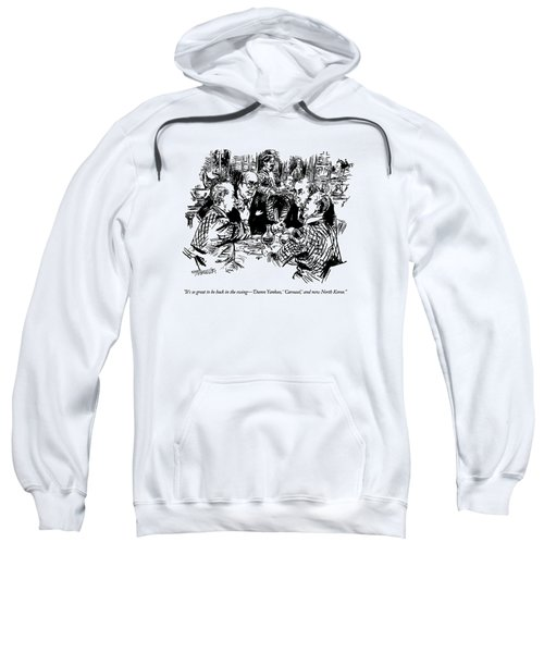 It's So Great To Be Back In The Swing - 'damn Sweatshirt
