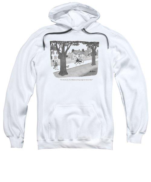 It's The Old Story. East Hampton Isn't Big Enough Sweatshirt