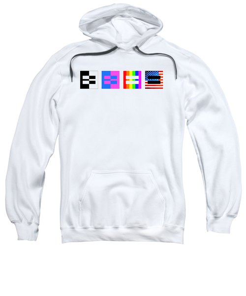 It's Time - Equal Rights For All By Sharon Cummings Sweatshirt