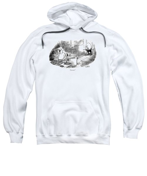 J'accuse! Sweatshirt