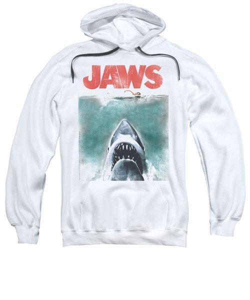 Jaws - Vintage Poster Sweatshirt