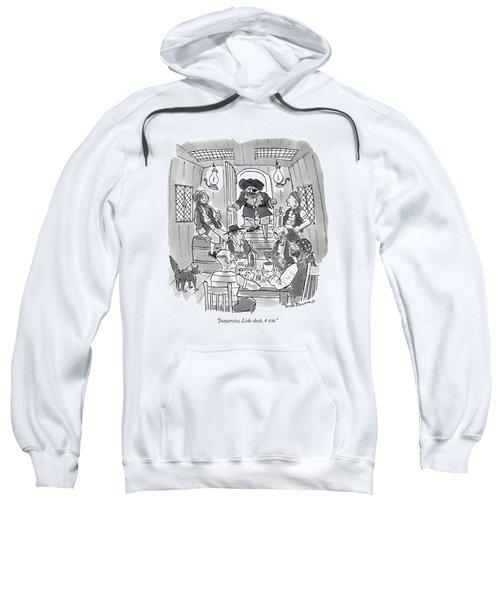 Jazzercise, Lido Deck, 4 P.m Sweatshirt
