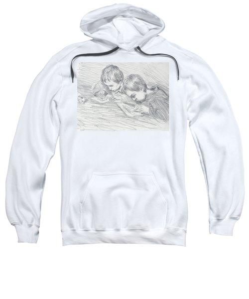 Jean Pierre Hoschede And Michel Monet Sweatshirt