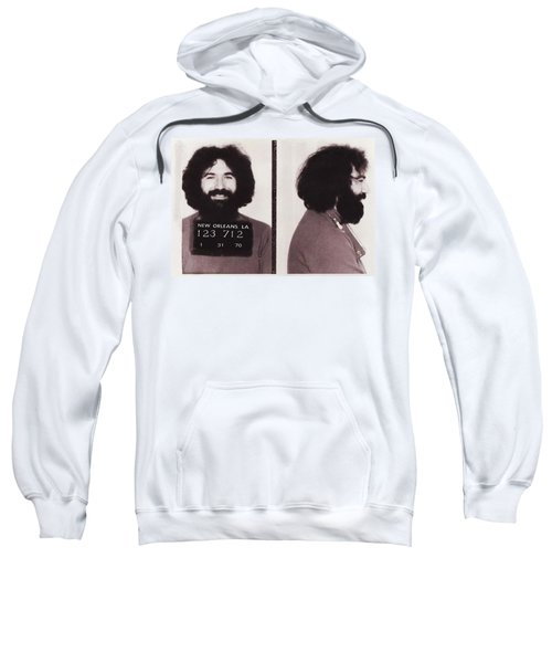 Jerry Garcia Mugshot Sweatshirt