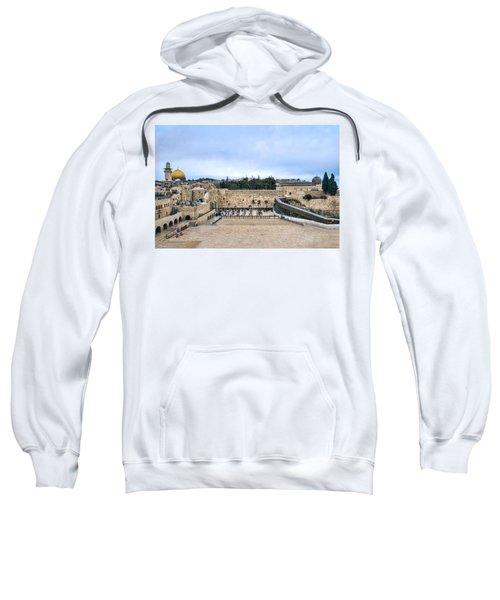 Jerusalem The Western Wall Sweatshirt