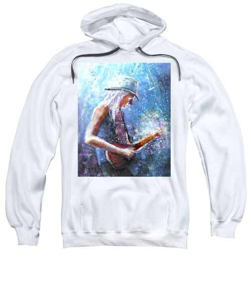 Johnny Winter Sweatshirt
