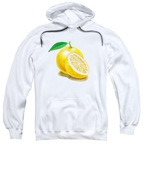 Juicy Grapefruit Sweatshirt by Irina Sztukowski
