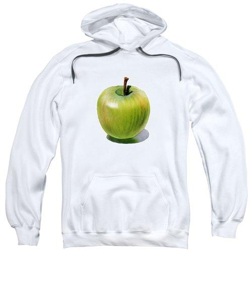 Juicy Green Apple Sweatshirt by Irina Sztukowski