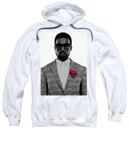 Kanye West  Sweatshirt by Dan Sproul