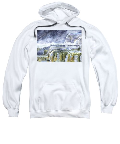 Killdeer Palisades - Mammoth Hot Springs Sweatshirt