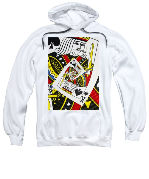 King Of Spades Collage Sweatshirt