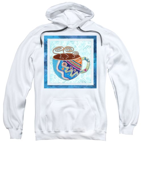Kitchen Cuisine Hot Cuppa No20 By Romi And Megan Sweatshirt