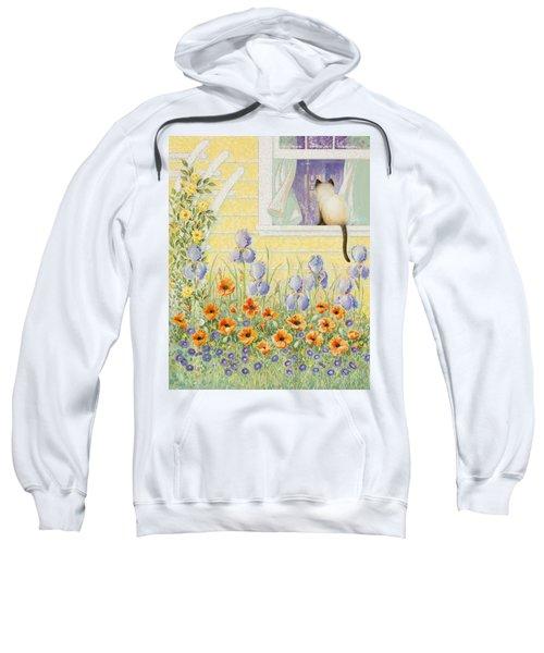Kitty In The Window Sweatshirt