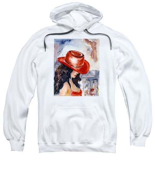 The Red Hat Sweatshirt
