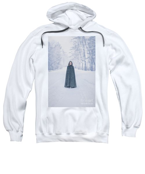 Lady Of The Winter Forest Sweatshirt