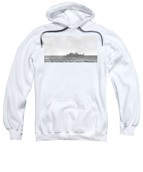 Landing On The Horizon Sweatshirt by Betsy Knapp