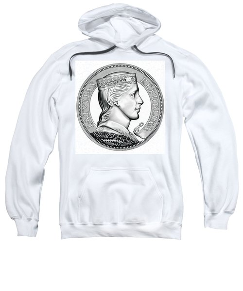 Latvia Crown Sweatshirt