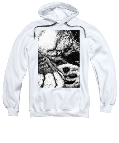 Let Sleeping Cats Lie Sweatshirt