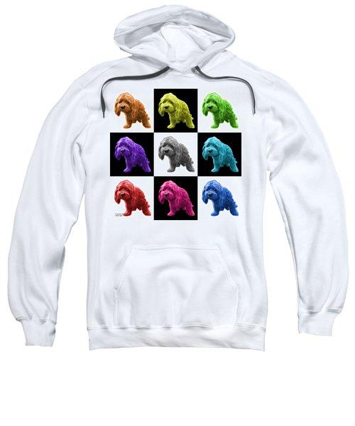 Lhasa Apso Pop Art - 5331 - V2- M Sweatshirt