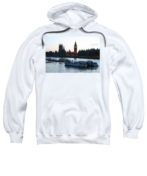 Lighting Up Time On The Thames Sweatshirt