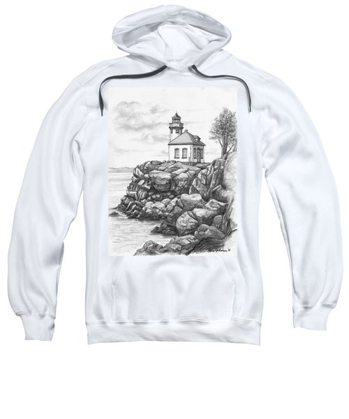 Lime Kiln Lighthouse Sweatshirt