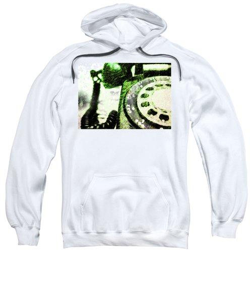 Lime Rotary Phone Sweatshirt