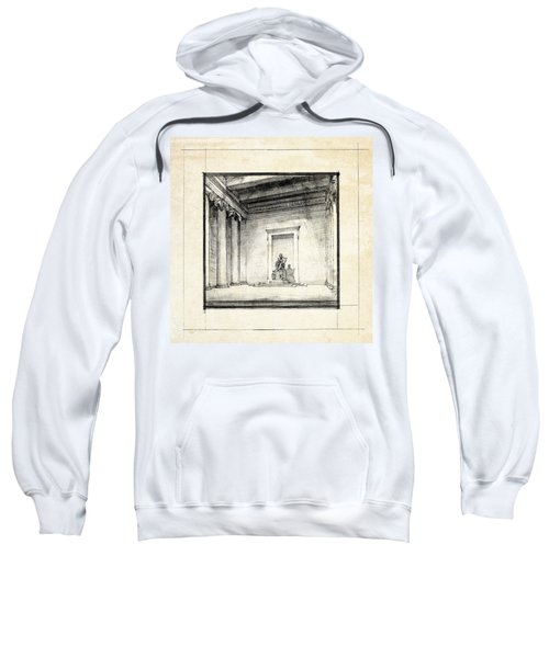Lincoln Memorial Sketch IIi Sweatshirt