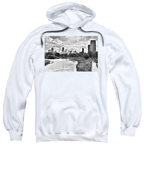 Lincoln Park Black And White Sweatshirt