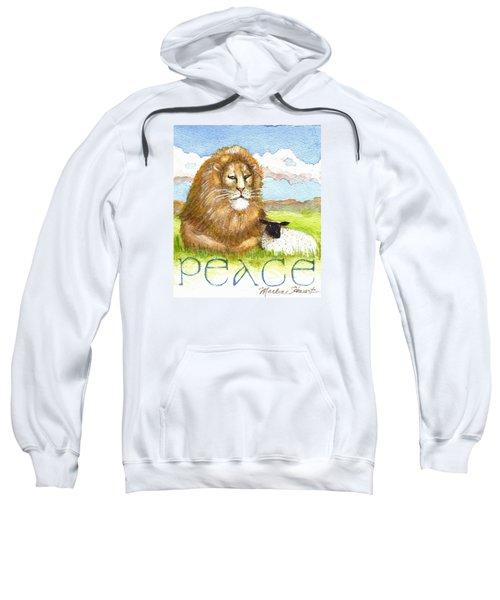 Lion And Lamb - Peace  Sweatshirt