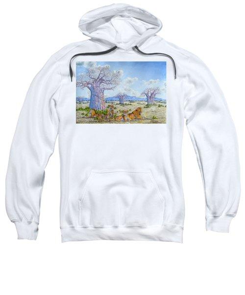 Lions By The Baobab Sweatshirt