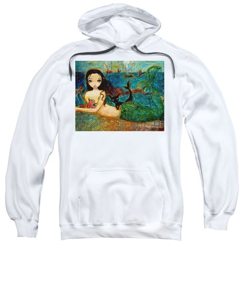Little Mermaid Sweatshirt by Shijun Munns