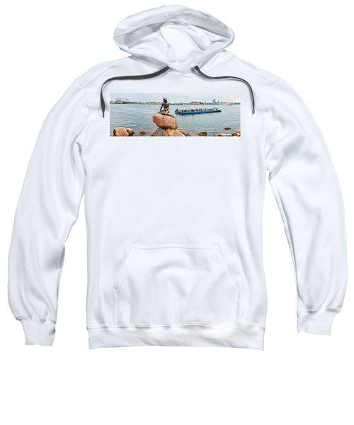 Little Mermaid Statue With Tourboat Sweatshirt