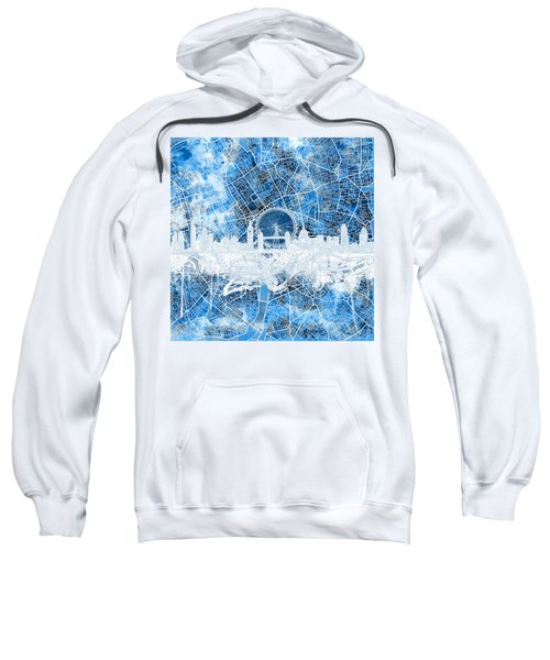 London Skyline Abstract 13 Sweatshirt