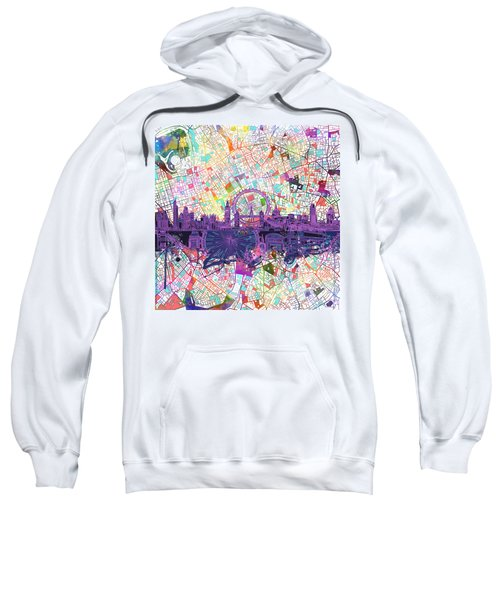 London Skyline Abstract Sweatshirt