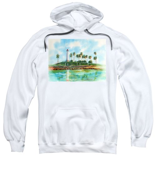 Long Beach Lighthouse  Version 2 Sweatshirt