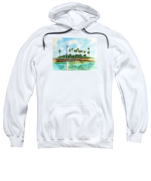 Long Beach Lighthouse  Version 2 Sweatshirt