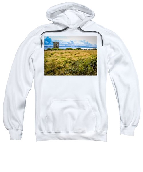 Sweatshirt featuring the photograph Lord Bandon's Tower In Ireland's County Cork by James Truett