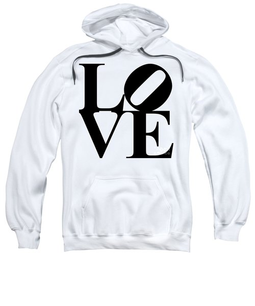 Love 20130707 Black White Sweatshirt
