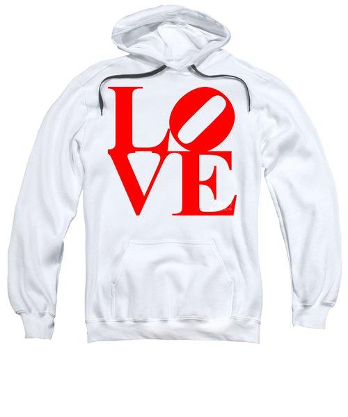 Love 20130707 Red White Sweatshirt