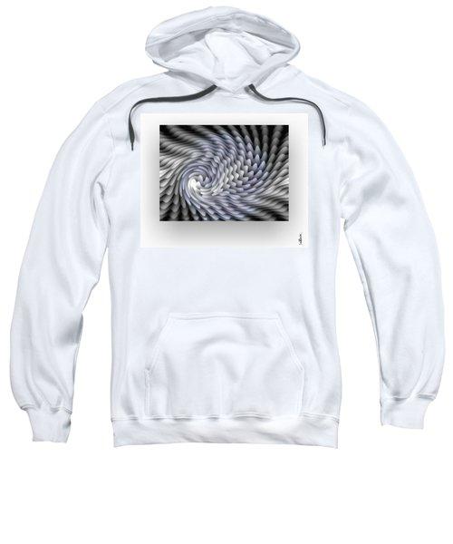 Sweatshirt featuring the digital art Lumiere by Mihaela Stancu