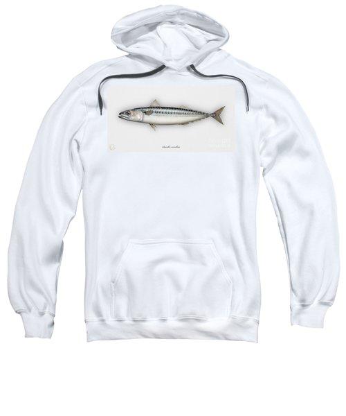Mackerel Scomber Scombrus  - Maquereau - Caballa - Sarda - Scombro - Makrilli - Seafood Art Sweatshirt