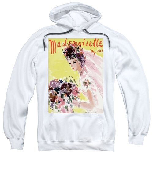 Mademoiselle Cover Featuring A Bride Sweatshirt
