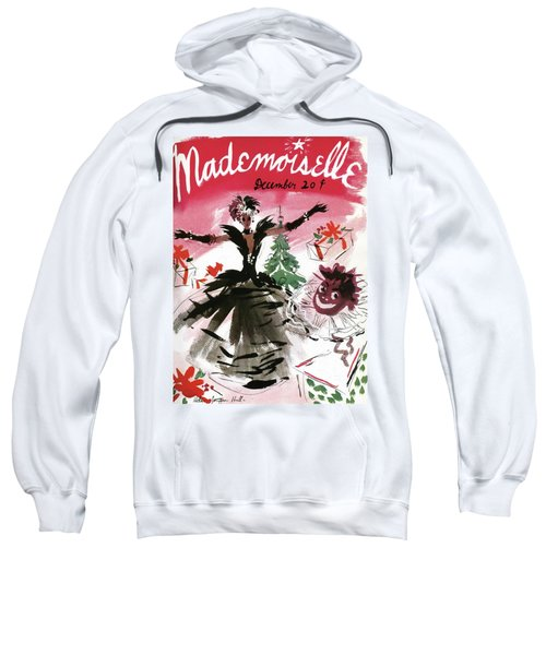 Mademoiselle Cover Featuring A Doll Surrounded Sweatshirt