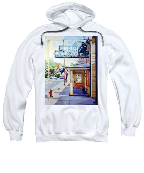 Main's Ice Cream Sweatshirt