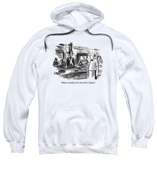 Make It A Double Sweatshirt