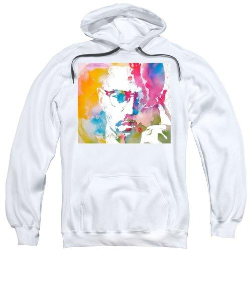 Malcolm X Watercolor Sweatshirt